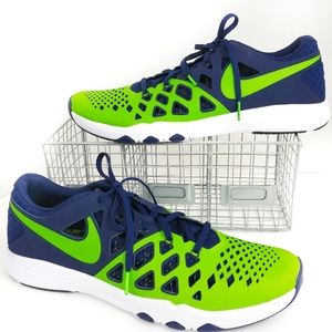 Nike Seattle Seahawks Train Speed 4 Amp Shoes 13